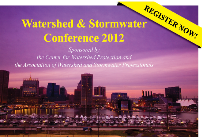 Watershed & Stormwater Conference 2012