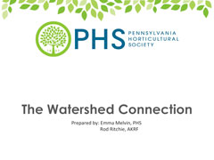 The Watershed Connection